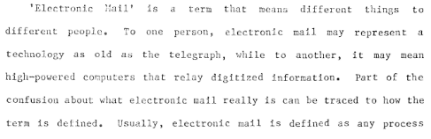 "VA Shiva Ayyadurai,the Inventor of Email - False Claim – 7: James Robinson on ""Electronic Mail"""